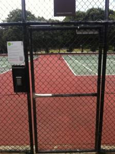 Tennis court 4